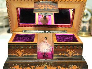 Музыкальная Шкатулка с Танцующей Балериной. Ярмарка Мастеров - ручная работа, handmade.