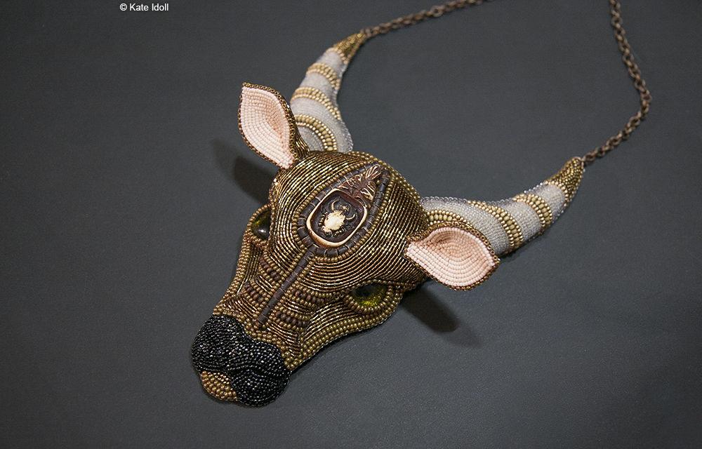 Объемные портреты животных на примере броши Енот, фото № 2