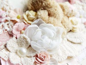 Шифоновый цветок (маленький). Ярмарка Мастеров - ручная работа, handmade.