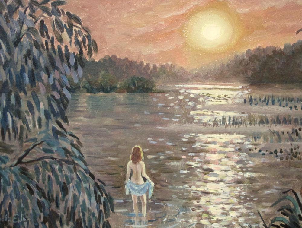 скидки, картина со скидкой, пейзаж маслом, авторская живопись, ярмарка мастеров, купить картину недорого