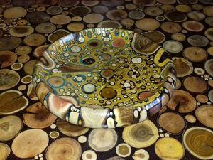 Декоративные тарелки из 17 пород дерева. Ярмарка Мастеров - ручная работа, handmade.
