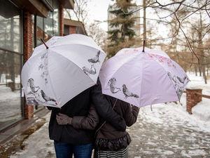Зонтик - романтическое начало... | Ярмарка Мастеров - ручная работа, handmade