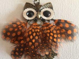 Знаете ли вы, почему сова раздувается?. Ярмарка Мастеров - ручная работа, handmade.