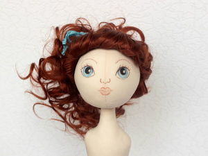 3 варианта прически на основе трессов для текстильной куклы. Ярмарка Мастеров - ручная работа, handmade.