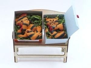Упаковка подарочных рыжих котиков | Ярмарка Мастеров - ручная работа, handmade