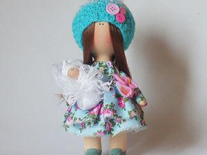 Интерьерная кукла -талисман   Ярмарка Мастеров - ручная работа, handmade