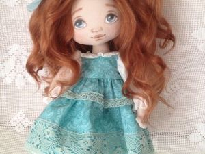Аукцион на куколку Анфису !. Ярмарка Мастеров - ручная работа, handmade.