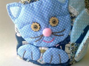 Чаепитие с красавицей Кошкой. Ярмарка Мастеров - ручная работа, handmade.