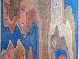 Персонажи в прожилках дерева   Ярмарка Мастеров - ручная работа, handmade