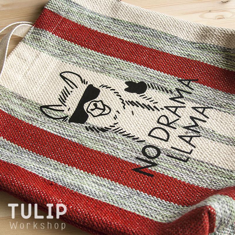 Шьем сумку-шоппер из домотканого коврика без выкройки, фото № 15