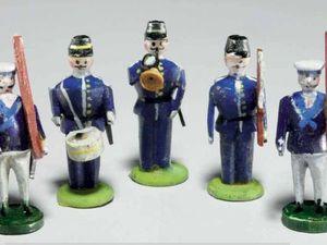 История игрушечных солдатиков Томаса Линкольна!. Ярмарка Мастеров - ручная работа, handmade.