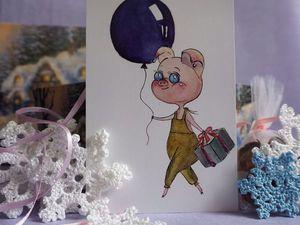 Новые открытки в магазине!. Ярмарка Мастеров - ручная работа, handmade.
