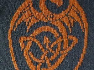 Свитшот Dragon. Выбор Драконов. Ярмарка Мастеров - ручная работа, handmade.