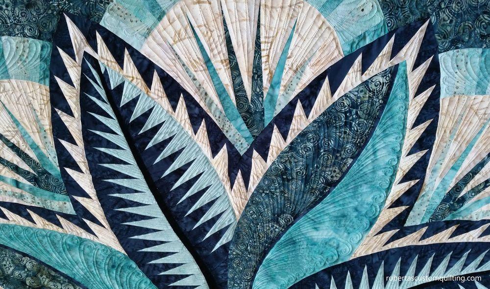 澳大利亚大师的作品(拼布的最高境界) - maomao - 我随心动