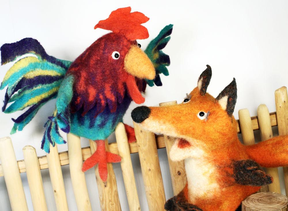 валяние игрушки, кукольный театр дома