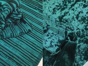 Бархат и бархат-плиссе - ассортимент цветов. Ярмарка Мастеров - ручная работа, handmade.