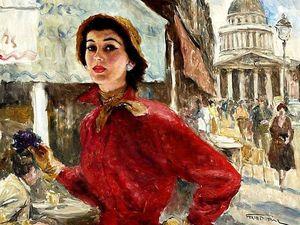 Мое красивое французское платье — ЧАСТЬ 6. Конкурс коллекций. Ярмарка Мастеров - ручная работа, handmade.