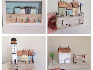 Домик в домике: обласканные морем миниатюры Loraine Spicknell. Ярмарка Мастеров - ручная работа, handmade.