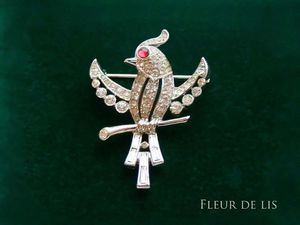 Trifari, птичка. Ярмарка Мастеров - ручная работа, handmade.