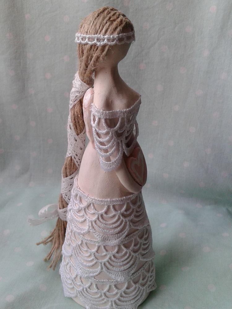 керамика, природная глина, керамическая кукла