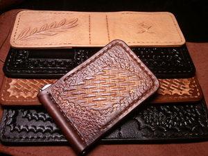 Как сделать зажим из кожи для купюр своими руками. Ярмарка Мастеров - ручная работа, handmade.