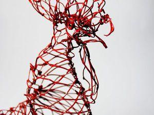 Создаем символ 2017 года: Петух из проволочной сетки в технике «Chicken Wire». Ярмарка Мастеров - ручная работа, handmade.