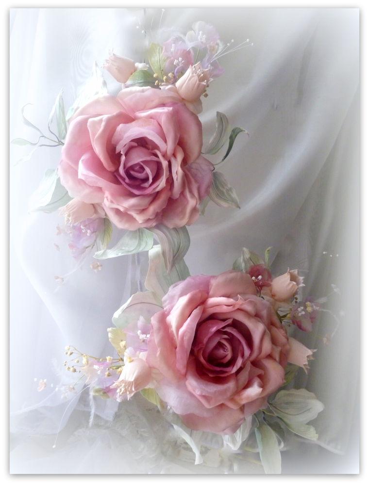 обучение цветоделию, цветы из ткани, цветы своими руками, декор для дома, подарок, шелковые цветы, мк