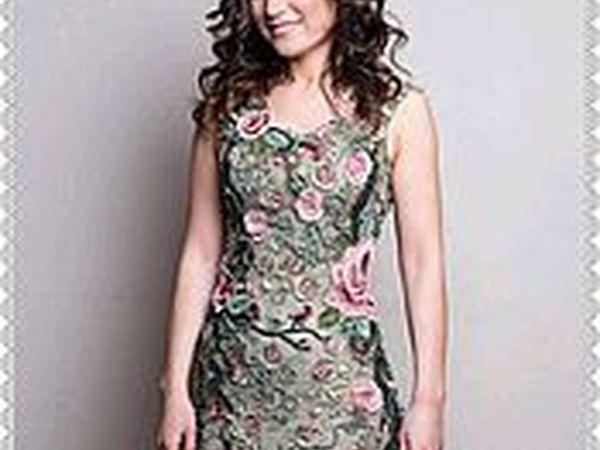 Платье ЭДЕМ связано по мк Аси Вертен | Ярмарка Мастеров - ручная работа, handmade