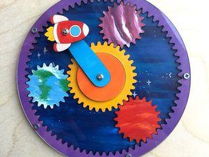 Механизм из шестеренок Космос. Ярмарка Мастеров - ручная работа, handmade.