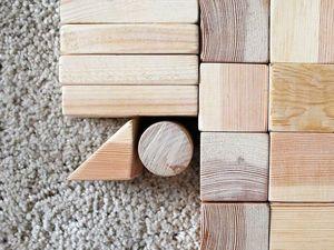 Про деревянный конструктор. Ярмарка Мастеров - ручная работа, handmade.