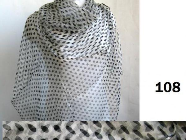 ДО и ПОСЛЕ. Шелковый шифоновый платок | Ярмарка Мастеров - ручная работа, handmade