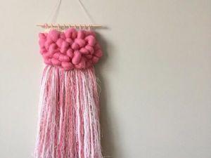 Розовое облачко. Ярмарка Мастеров - ручная работа, handmade.
