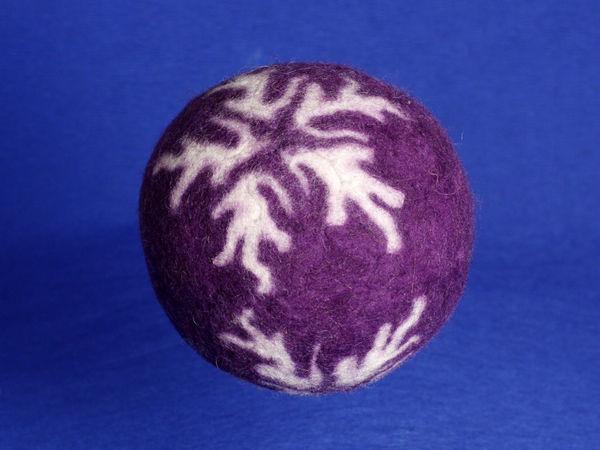 Мастер-класс: как свалять интересные шарики для праздника | Ярмарка Мастеров - ручная работа, handmade