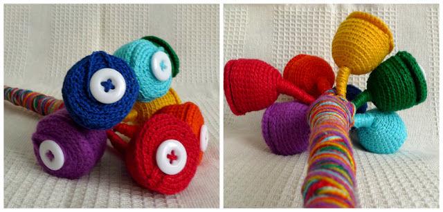 Делаем сами развивающую игрушку «Волшебный цветок», фото № 9