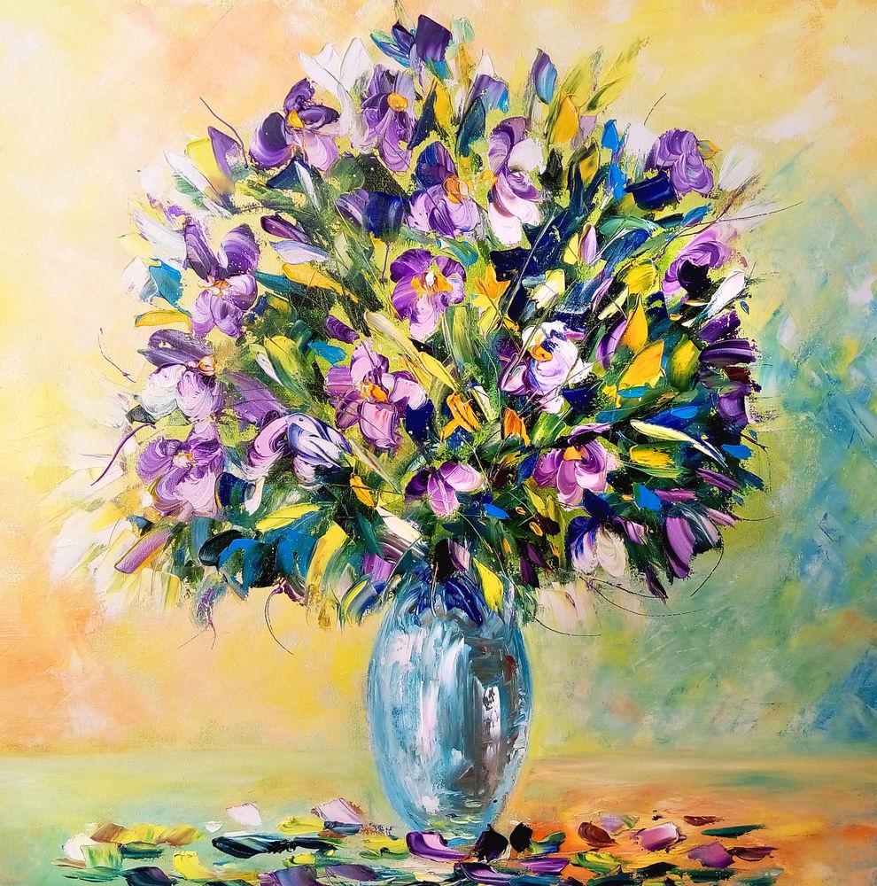 подарок женщине, яркие картины, подсолнухи цветы