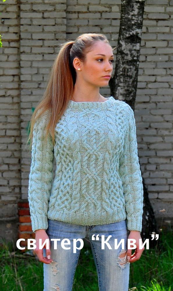 свитер ручная работа