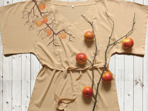 Расписываем блузку