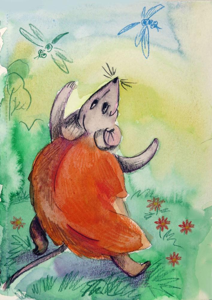 сказка про мышей, авторская сказка, сувенир петух