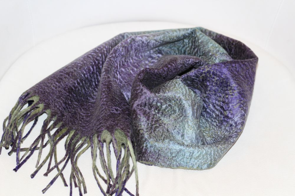 мк в москве, валяние для начинающих, юлия левшина, шарф в подарок