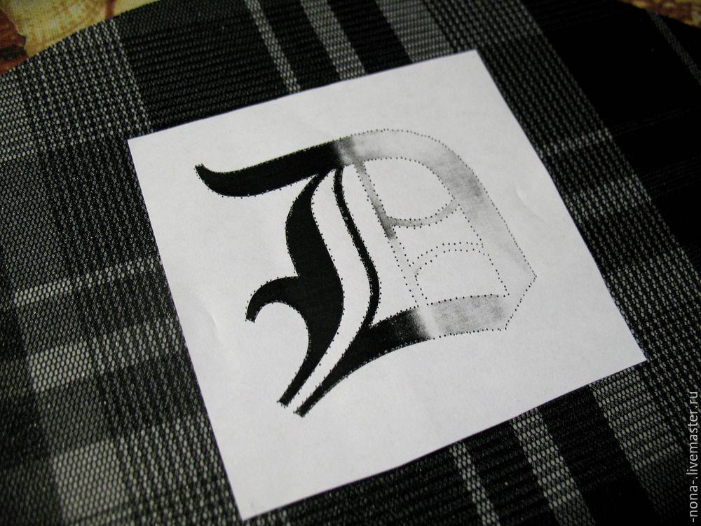 Перенос картинки на ткань с помощью растворителя