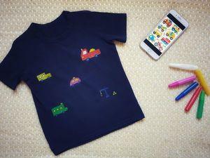 Рисуем машинки на детской футболке. Ярмарка Мастеров - ручная работа, handmade.