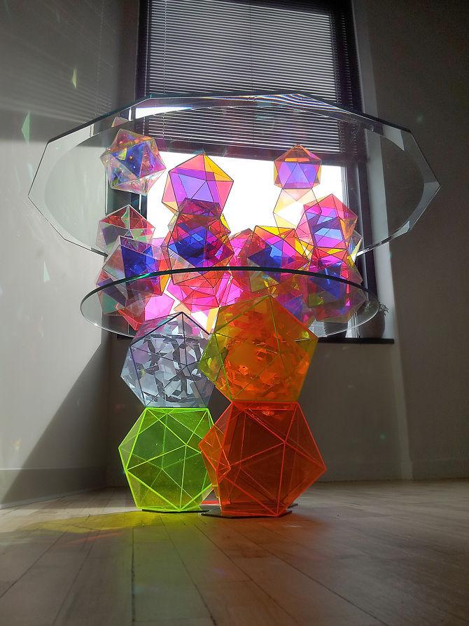 Кристаллы из стекла как сделать