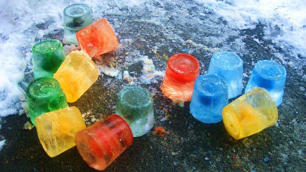 Грибы из льда как сделать
