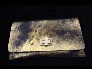 Эффект чёрного золота   Ярмарка Мастеров - ручная работа, handmade