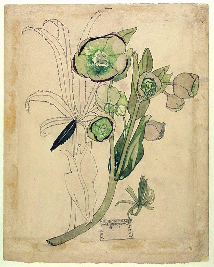 цветы в стиле модерн картинки многих