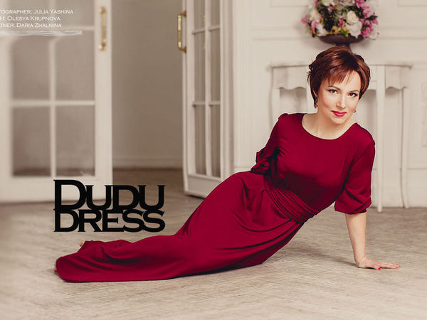Акция WEEKLY - платье бордо с огромной скидкой! | Ярмарка Мастеров - ручная работа, handmade