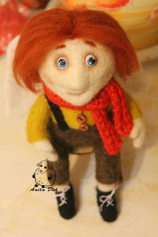 авторская кукла, анита дух, валяная кукла, мастер-класс от аниты дух