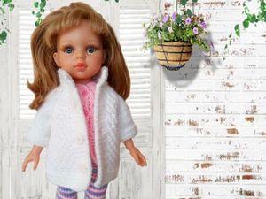 Мастер класс по вязанию комплекта для кукол Паола Рейна. Ярмарка Мастеров - ручная работа, handmade.