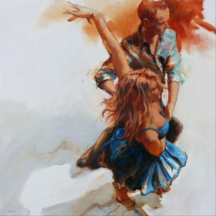 танец на картинах