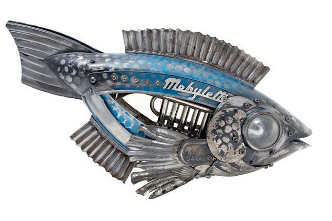 Животные из металла французского скульптора Edouard Martinet, фото № 3